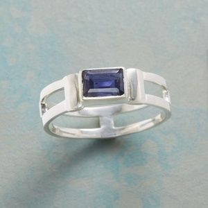 Sundance Catalog Sterling Silver and Iolite Ring